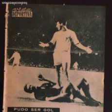 Coleccionismo deportivo: VIDA DEPORTIVA-N 834-4/09/1961.BARCELONA,4-STADE REIMS,3.KUBALA.RAMALLETS. Lote 100348154