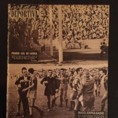 Coleccionismo deportivo: VIDA DEPORTIVA-N 790-10/10/1960.COPA EUROPA.BARCELONA,2-LIERSE,0.MADRID V.BARCELONA EN COPA EUROPA. Lote 100348534