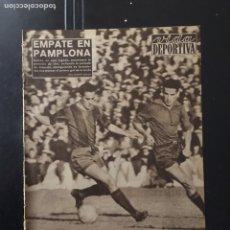 Coleccionismo deportivo: VIDA DEPORTIVA-N 687- 17/11/1958.COPA FERIAS. BASILEA,1-BARCELONA,2.COPA EUROPA.R.MADRID,2-BESIKTAS,. Lote 100415402