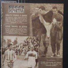 Coleccionismo deportivo: VIDA DEPORTIVA-N 738-9/11/1959.COPA DE EUROPA.BARCELONA,5-MILÁN,1. Lote 100416151