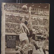 Coleccionismo deportivo: VIDA DEPORTIVA-N 739-16/11/1959.COPA DE EUROPA.MANCHESTER.WIENNER.R.MADRID. Lote 100416490