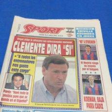 Sport-4484-9/05/1992. Previa final Copa Europa.Barcelona-Sampdoria