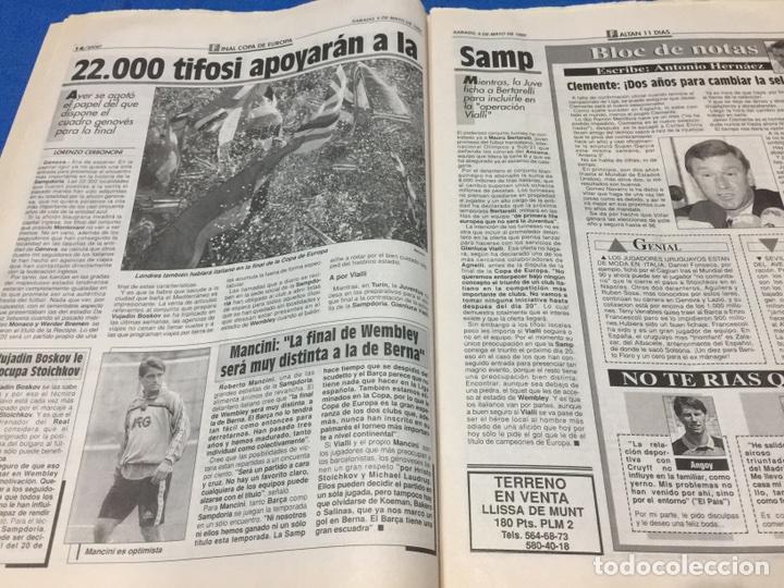Coleccionismo deportivo: Sport-4484-9/05/1992. Previa final Copa Europa.Barcelona-Sampdoria - Foto 3 - 100459110