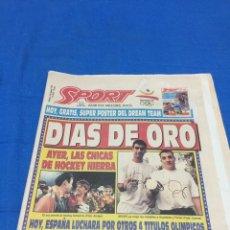 Coleccionismo deportivo: SPORT-4575-8/08/1992.OLIMPIADAFINAL BALONCESTO.DREAM TEAM. Lote 100459383