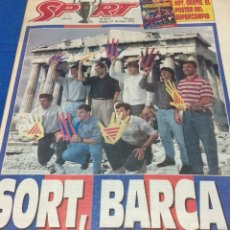Coleccionismo deportivo: SPORT-5215-17/05/1992.BARCELONA-MILÁN.MAÑANA FINNAL COPA EUROPA. Lote 100464467