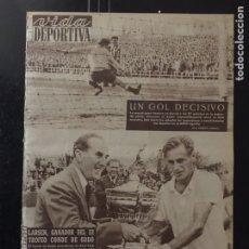 Coleccionismo deportivo: VIDA DEPORTIVA-16/05/1955.ESPAÑA V. INGLATERRA.NEWCASTLE CAMPEÓN FA. Lote 100479159
