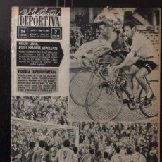 Coleccionismo deportivo: VIDA DEPORTIVA-N 974-11/05/1964.EUROCOPA.COPA FERIAS.SEMIFINALES. ZARAGOZA-LIEJA.VALENCIA-COLONIA. Lote 100479298