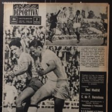 Coleccionismo deportivo: VIDA DEPORTIVA-N 972-27/04/1964.SEMIFINALES COPA EUROPA.MADRID-ZÚRICH.INTER-BORUSSIA. Lote 100479435