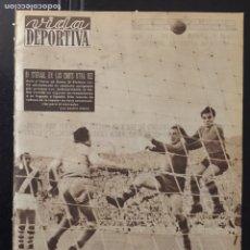 Coleccionismo deportivo: VIDA DEPORTIVA- 508-13/06/1955.RACING PARÍS,3-BARCELONA,5. Lote 100482519