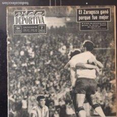 Coleccionismo deportivo: VIDA DEPORTIVA-982-6/07/1964. FINAL COPA.ZARAGOZA,2-AT.MADRID,1. Lote 100492579