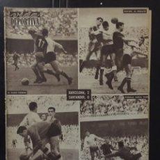 Coleccionismo deportivo: VIDA DEPORTIVA-786-3/10/1960.COPA DE EUROPA.BARCELONA,2-LIERSE,0. Lote 100561566