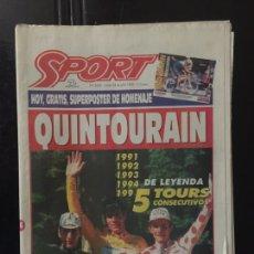 Coleccionismo deportivo: SPORT-5645-24/07/1995.QUINTO TOUR.. Lote 100562320
