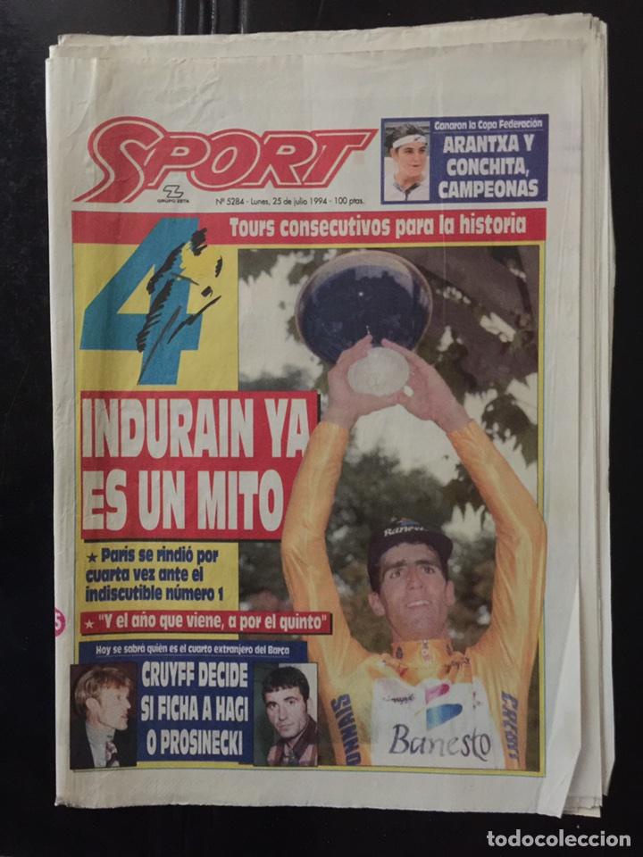 SPORT-5284-25/07/1994.CUARTO TOUR (Coleccionismo Deportivo - Revistas y Periódicos - Sport)