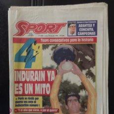 Coleccionismo deportivo: SPORT-5284-25/07/1994.CUARTO TOUR. Lote 100562474
