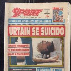 Coleccionismo deportivo: SPORT-4558-22/07/1992. URTAIN. BARCELONA 92. Lote 100575671