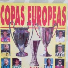 Coleccionismo deportivo: DON BALÓN COPAS EUROPEAS. Lote 100624610