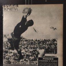 Coleccionismo deportivo: VIDA DEPORTIVA-924-27/05/1963.TOTTENHAM CAMPEÓN RECOPA.MILAN CAMPEÓN COPA EUROPA. Lote 100671780
