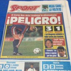 Coleccionismo deportivo: SPORT-4976-16/09/1993.DINAMO KIEV,3-BARCELONA,1. Lote 100723922