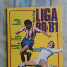 Coleccionismo deportivo: EXTRA LIGA DON BALÓN 1980 1981 80 81 80/81 1980/1981. Lote 143165864
