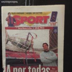 Coleccionismo deportivo: SPORT-5/11/1997. UEFA.ASTON VILA,2-BILBAO,1. Lote 101045347
