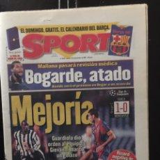 Coleccionismo deportivo: SPORT-27/11/1997.BARCELONA,1-NEWCASTLE,0.LIGA DE CAMPEONES. Lote 101048604