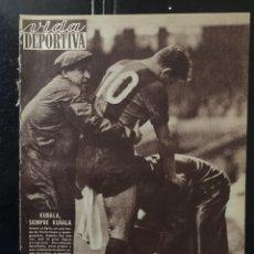 Coleccionismo deportivo: VIDA DEPORTIVA-802-23/01/1961.BARCELONA,2-BETIS,1. Lote 101053252