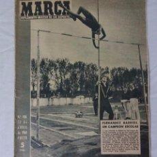 Coleccionismo deportivo: MARCA. SEMANARIO GRÁFICO DE LOS DEPORTES. Nº 906 ABRIL 1960. ESPAÑOL 0 BARCELONA 1. Lote 97634887