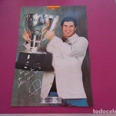 Coleccionismo deportivo: POSTER DE SPORT/ CAMPEONES / CAMPIONS LIGA 97/98/ FIGO. Lote 101891735