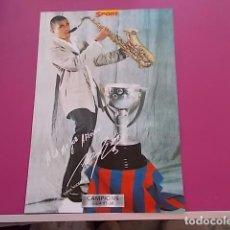 Coleccionismo deportivo: POSTER DE SPORT/ CAMPEONES / CAMPIONS LIGA 97/98/ ANDERSON . Lote 101891923