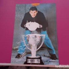 Coleccionismo deportivo: POSTER DE SPORT/ CAMPEONES / CAMPIONS LIGA 97/98/ RUUD HESP. Lote 101892291