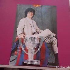 Coleccionismo deportivo: POSTER DE SPORT/ CAMPEONES / CAMPIONS LIGA 97/98/ FERNANDO COUTO. Lote 101895155
