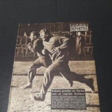 Coleccionismo deportivo: VIDA DEPORTIVA. N 585 - 3/12/1956. CONDAL,1 - BARCELONA,1. HONVED.. Lote 101946358