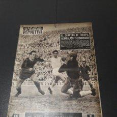 Coleccionismo deportivo: VIDA DEPORTIVA. 12/11/1956. BARCELONA,1 - REAL MADRID,0.. Lote 101946836