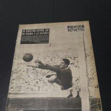 Coleccionismo deportivo: VIDA DEPORTIVA. N 587 - 17/12/1956. COPA EUROPA. R.MADRID - RAPID VIENA. BARCELONA,1 - ESPAÑOL,1.. Lote 101946980