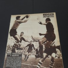 Coleccionismo deportivo: VIDA DEPORTIVA. 4/02/1957. BARCELONA,2 - ATH.BILBAO,0. CONDAL,5 - SEVILLA,1.R.MADRID,0 - AT.MADRID,2. Lote 101969074