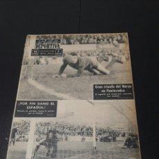 Coleccionismo deportivo: VIDA DEPORTIVA. N 958 - 20/01/1964. COPA EUROPA. R.MADRID - MILAN .LIGA. PONTEVEDRA,0 - BARCELONA,2.. Lote 101976358