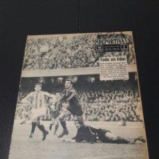 Coleccionismo deportivo: VIDA DEPORTIVA. N 956 - 6/01/1964. BARCELONA,4 - BETIS,1. COPA FERIAS. AT.MADRID - JUVENTUS.. Lote 101979262