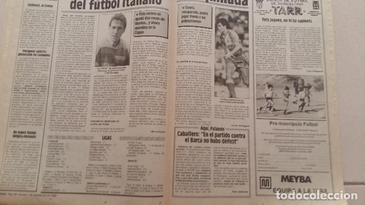 Coleccionismo deportivo: Diario sport 1989. Nº 3530 - Foto 2 - 54161253