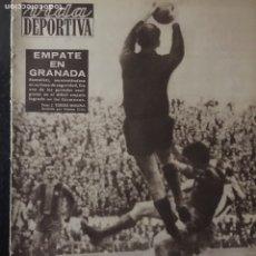 Coleccionismo deportivo: VIDA DEPORTIVA-794-28/11/1960. COPA EUROPA. FC BARCELONA,2-R.MADRID,1. Lote 102755324