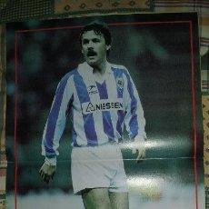Coleccionismo deportivo: POSTER DON BALON. LARRAÑAGA -REAL SOCIEDAD- PERFECTO ESTADO. Lote 102834795