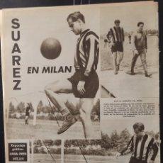 Coleccionismo deportivo: VIDA DEPORTIVA-823-19/6/1961. CAMPEONES. ESPAÑOL,1-FLUMINENSE,2. LUIS SUÁREZ EN MILÁN. Lote 103006723