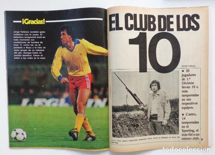 Coleccionismo deportivo: REVISTA DON BALON Nº 379 DEL 4 AL 10 DE ENERO DE 1983 PLANTILLA DEL AT.MADRID - Foto 2 - 103032343