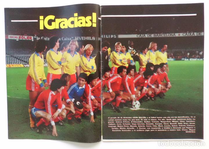 Coleccionismo deportivo: REVISTA DON BALON Nº 379 DEL 4 AL 10 DE ENERO DE 1983 PLANTILLA DEL AT.MADRID - Foto 3 - 103032343