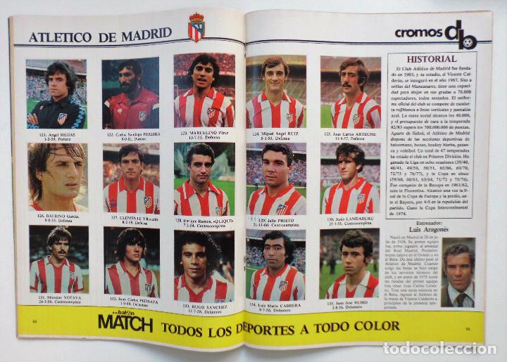 Coleccionismo deportivo: REVISTA DON BALON Nº 379 DEL 4 AL 10 DE ENERO DE 1983 PLANTILLA DEL AT.MADRID - Foto 4 - 103032343