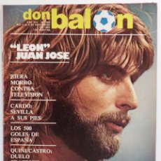 Coleccionismo deportivo: REVISTA DON BALON Nº 369 DEL 2 AL 8 DE NOVIEMBRE DE 1982 POSTER CENTRAL SELECCION DE ESPAÑA . Lote 103035351