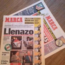 Coleccionismo deportivo: DIARIO MARCA DERBI MADRILEÑO + SUPLEMENTO 2 OCTUBRE 1993 ATLETICO DE MADRID REAL MADRID. Lote 103075999