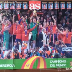 Coleccionismo deportivo: LOTE PÓSTER SELECCION ESPAÑOLA. Lote 103114948