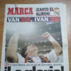 Coleccionismo deportivo: DIARIO MARCA -4 JUNIO 1995 CAMPEON DE LIGA 94/95 Nº 26 REAL MADRID ALIRON - LA GLORIA!. Lote 103140875