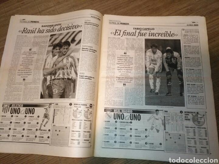 Coleccionismo deportivo: DIARIO MARCA 19 ENERO 1997 PORTADA RAUL DE FRENTE 1-4 ATLETCO - REAL MADRID - CARLOS SAINZ - Foto 4 - 103155307