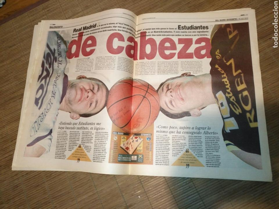 Coleccionismo deportivo: DIARIO MARCA 19 ENERO 1997 PORTADA RAUL DE FRENTE 1-4 ATLETCO - REAL MADRID - CARLOS SAINZ - Foto 6 - 103155307